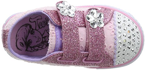 Skechers Shuffles, Sneakers basses fille Rose (Pkhp)