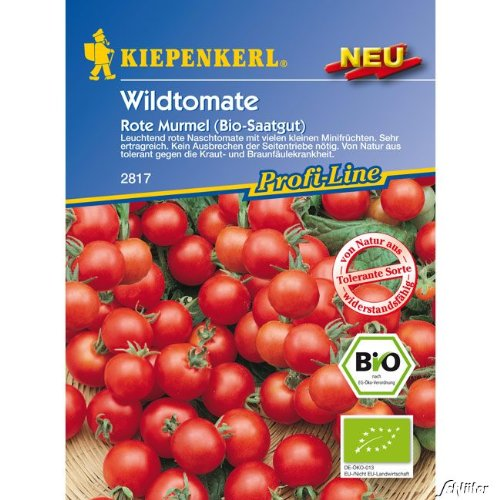 Wildtomate 'Rote Murmel' (Bio-Saatgut)