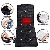 Massagematte, Heat Therapy Blood Circulation Verbesserung der doppelseitigen Vibration Massage Pad Kissen 170x55x5 cm