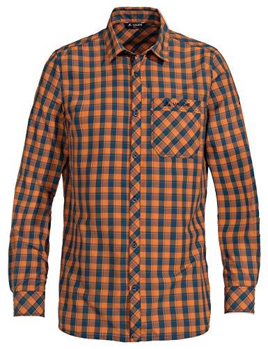 Vaude Herren Heimer Long Sleeve III Hemd, Orange Madder, 54