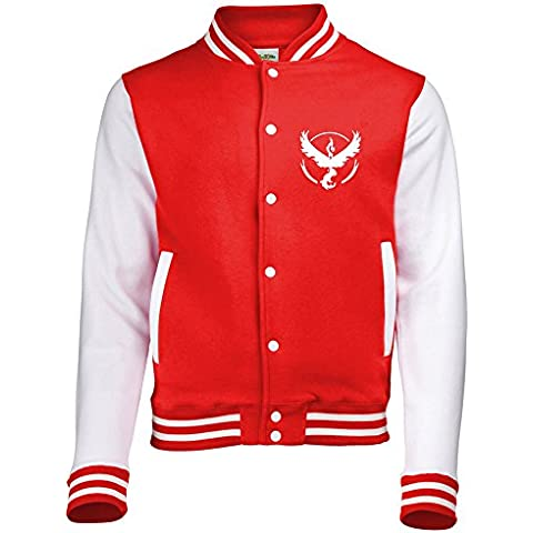 Bullshirt -  Giacca - università - Uomo - Red Mystic Jacket