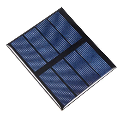 sourcing map 0,6W 2V Kleines Solarpanel Modul DIY Polysilicium für Spielzeug Ladegerät