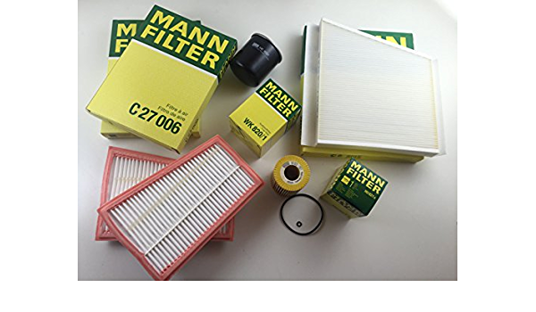 Mann Filter Ölfilter Pollenfilte Luftfilter Kraftstofffilter W211 S211 280 Cdi 320 Cdi Auto