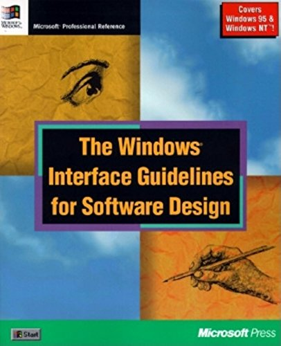 Windows Interface Guidelines for Software Design (Microsoft Corporation) (Corporation Desktop)