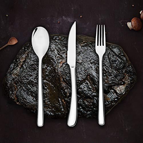 (New Retro Perlen Edelstahl 304 Steak Besteck Drei oder Vier Sätze von Western Geschirr Set Voller Satz von Haushalt, 4 Sätze)