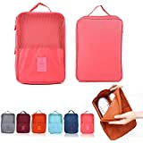 Multi Purpose Waterproof Travel Organizer Shoe Bag,Shoes Pouch for Shoes Slippers Socks Storage Tote Pouch with Zipper