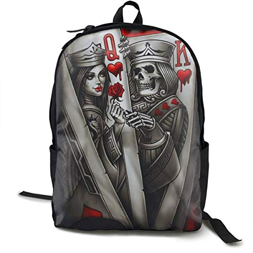 Backpacks Poke Tattoo School Bag Travel Daypack...