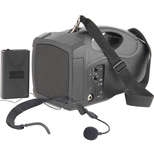 25W Portable/Handheld PA-System-Mobile Wireless Mikrofon/Lautsprecher USB Akku (Akku-pa-system Portable)