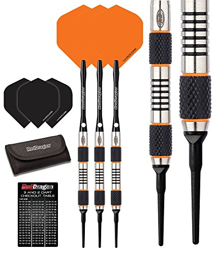 Darts HARROWS Elite 90/% Tungsten Softdarts Dartst/änder