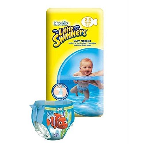 Culottes Huggies little swimmers maillots de bain jetables T2/3 x12 - ( Prix Unitare ) - Envoi Rapide Et Soignée