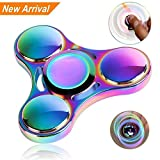 #4: Premsons Four Bearing Water Transfer Printed Fidget Spinner - Elysian Galaxy, Multi Color