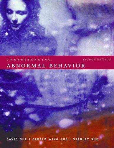Understanding Abnormal Behaviour
