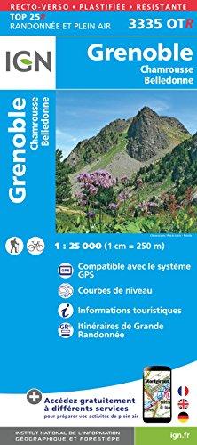 Grenoble / Chamrousse / Belledonne par Institut Géographique National