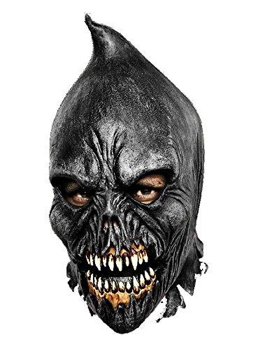 Irrer Henker Latex Maske zum Mutanten Dämonen Kostüm Halloween