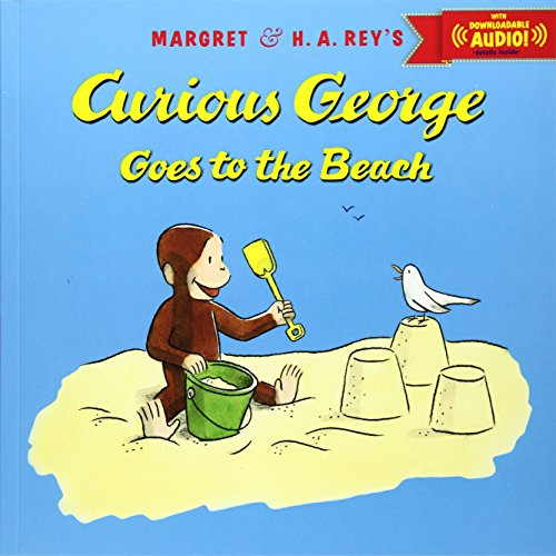 Curious George goes to the beach.