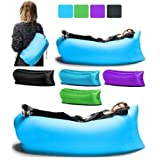 #8: Kakde's & Co. Outdoor Portable Lazy Sofa Fast Inflatable Folding Air Sleeping Bag Beach Lounge