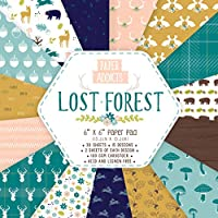Papel – Paper addicts Lost Forest 6 x 6