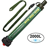 Best Guide Survival Kits - DeFe Personal Water Filter 2000L Portable Water Purification Review