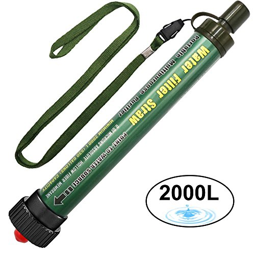 Filtro de Agua DeFe 2000L Personal Sistema de Filtración de Agua 0.01...