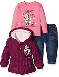 Disney Baby-Mädchen Bekleidungsset Minnie Mouse Fashion Collection
