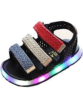 BOZEVON LED Sport Scarpe Lampeggiante Luminosi Sneakers bello Bambino Unisex Ragazza Ragazzi