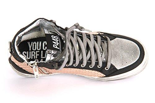 P448 E7 LOVE - Damen Schuhe Sneaker schwarz