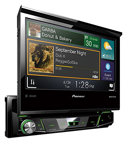 Pioneer AVH-X7700BT DVD Receiver (17,8 cm (7 Zoll), Bluetooth, 200 Watt)