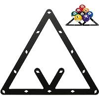 WXS Palle da Biliardo Triangolo Rack Varie Dimensioni Biliardi di Biliardo//Piscina in Legno massello