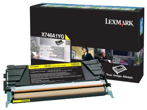 Preisvergleich Produktbild Lexmark X746A1YG Toner Cartridge für X748, gelb