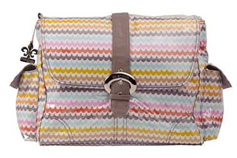 Kalencom Laminated Buckle Bag, Spa by Kalencom