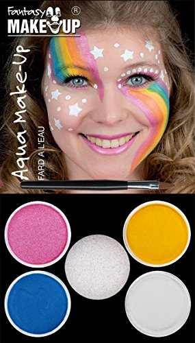 (Aqua Schminkset Make Up Märchen Einhorn Karneval Fasching)