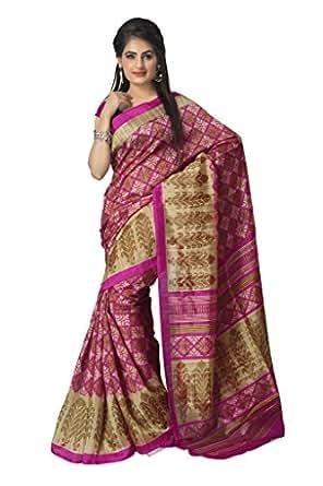 Vaamsi Tassar Silk Saree (Tussarsilk1009_Pink)