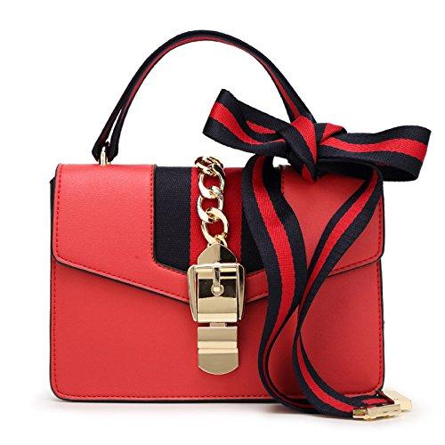 f9068bf72d2ab Weibliche Tasche Stern Neue Damen Wilde Umhängetasche Mode Band Kleine  Quadratische Tasche Weibliche Tasche Sling Kleine Tasche