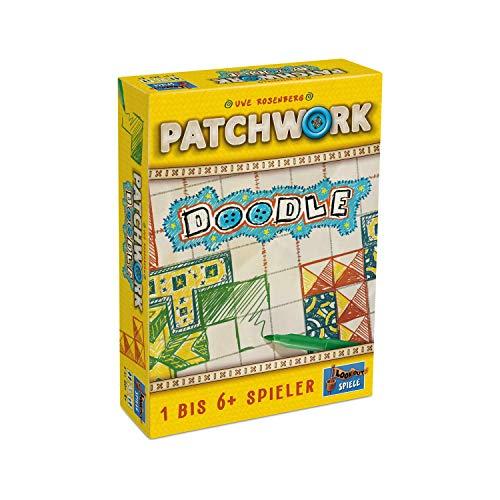 """Lookout Games 22160107 Patchwork Doodle - Die neue Art von """"Patchwork"""" von Uwe Rosenberg"""