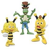 Schleich Biene Maja Spiel-Figuren-Set - Neuheiten 2017! - Biene Maja 27000 Willi 27002 und Flip 27004