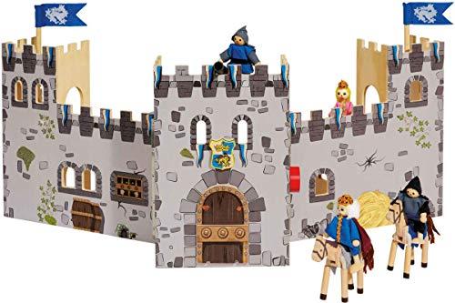 Play Tive Junior Ritterburg 20 teilig - Echtholz Spielzeug