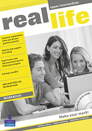 Real life. Upper intermediate. Workbook. Per le Scuole superiori. Con CD Audio. Con Multi-ROM