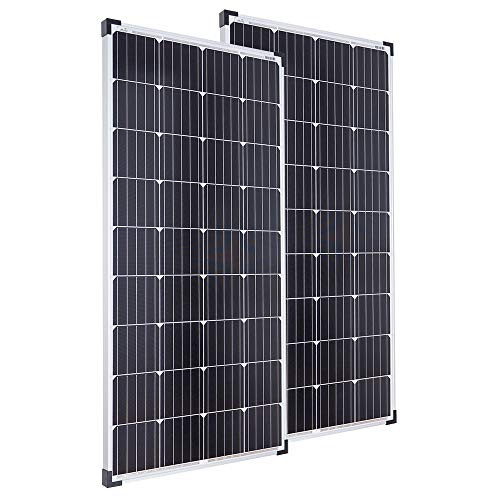 Spar Bundle 2 x 130 Watt Solarmodul - TÜV - MONO-Zellen 12V Solarpanel - Offgridtec