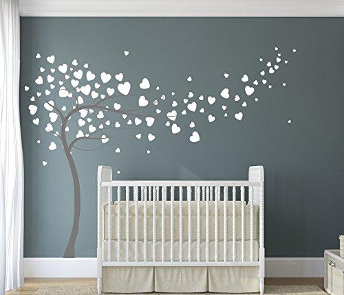 diseno-divil-premium-de-corazones-y-arbol-calidad-mate-vinilo-adhesivo-dark-grey-white-hearts-180cm-