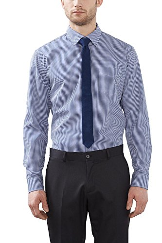 ESPRIT Collection Herren Businesshemd Blau (navy 400)