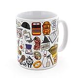 Movie Buff Film Icons Game Mug