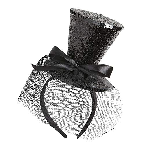 - Halloween Zubehör Mini Top Hut