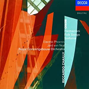 Berio : Formazioni / Folk songs / Sinfonia