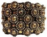 Campomaggi Armband Bracciale C010670ND X0028 C1501 Nieten - Dunkelbraun MORO