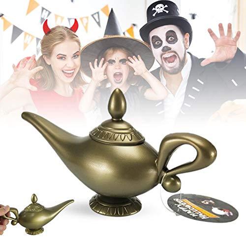 Rikey Kunststoff Cosplay Magic Halloween Panto Arabian für Aladdin Genie Lampe Kostüm Prop