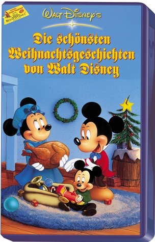Die schönsten Weihnachtsgeschichten von Walt Disney [VHS] -