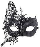 Maschere Veneziane Donna,Coofit Maschere di Carnevale Halloween Maschere Carnevale Adulti