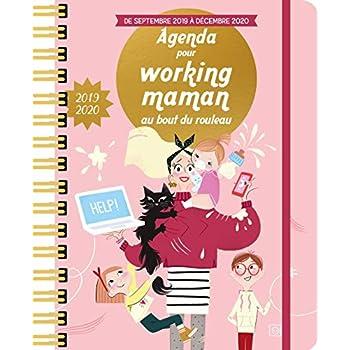 Agenda pour working maman au bout du rouleau 2019-2020