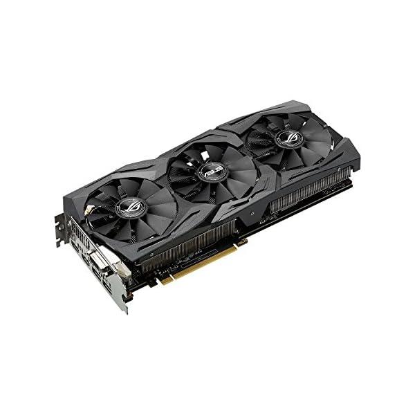 Asus-ROG-Strix-GTX1060-O6G-Gaming-Nvidia-GeForce-Grafikkarte-PCIe-30-6GB-GDDR5-Speicher-HDMI-DVI-Displayport