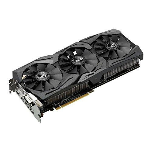 Asus ROG Strix GeForce GTX1060-O6G Gaming Grafikkarte (Nvidia - 2